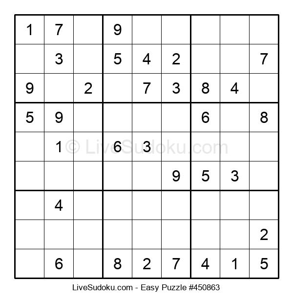 Beginners Puzzle #450863