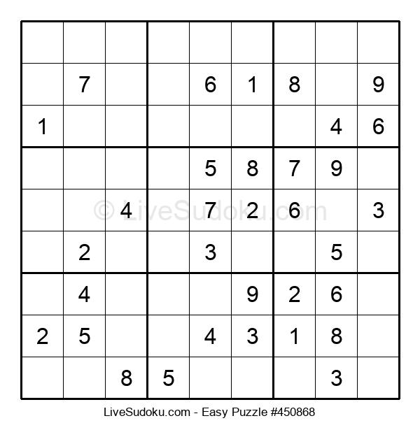 Beginners Puzzle #450868