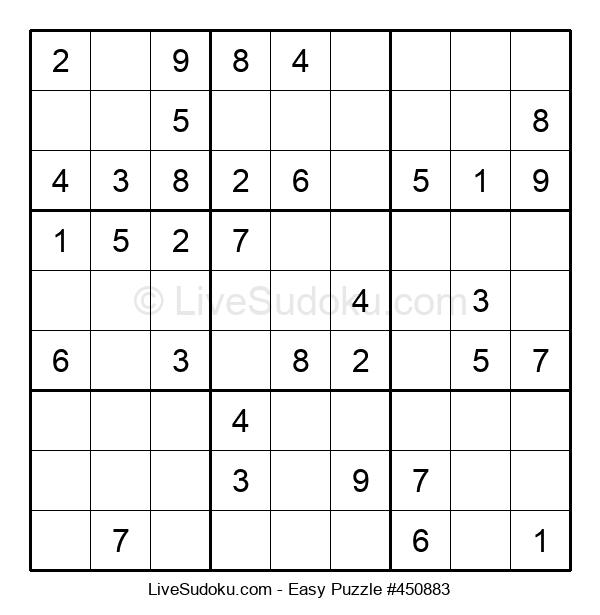 Beginners Puzzle #450883