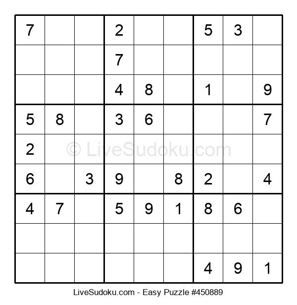 Beginners Puzzle #450889