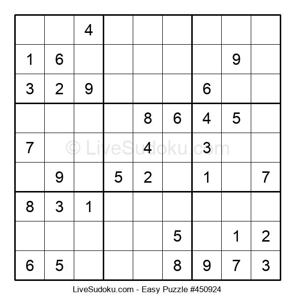 Beginners Puzzle #450924