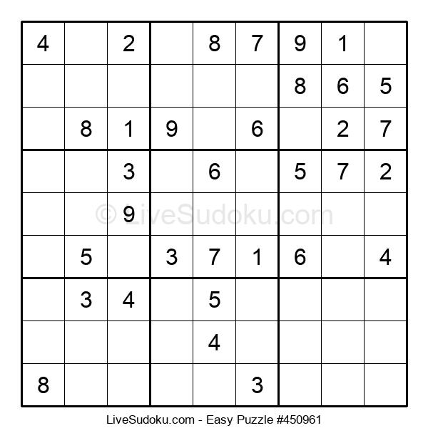 Beginners Puzzle #450961