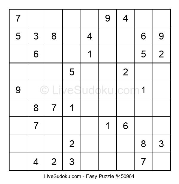 Beginners Puzzle #450964