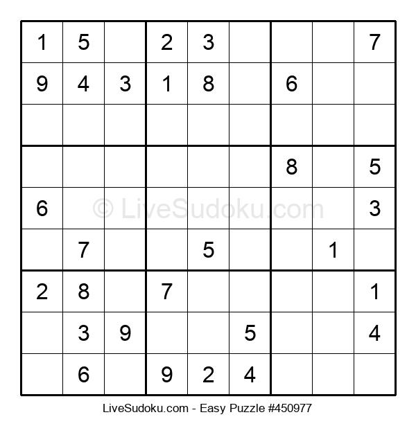 Beginners Puzzle #450977