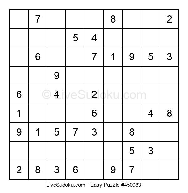 Beginners Puzzle #450983