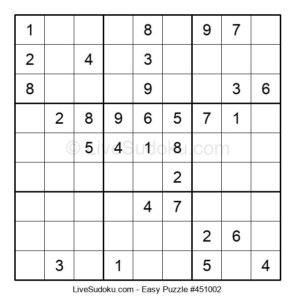 Beginners Puzzle #451002