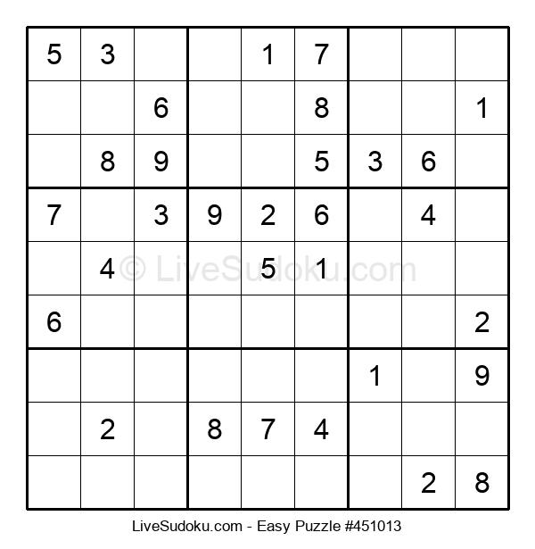 Beginners Puzzle #451013
