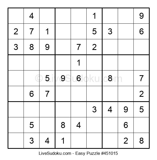 Beginners Puzzle #451015