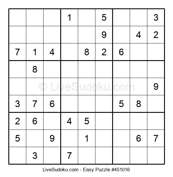 Beginners Puzzle #451016