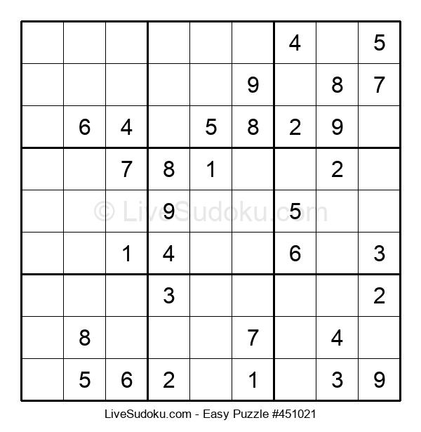 Beginners Puzzle #451021