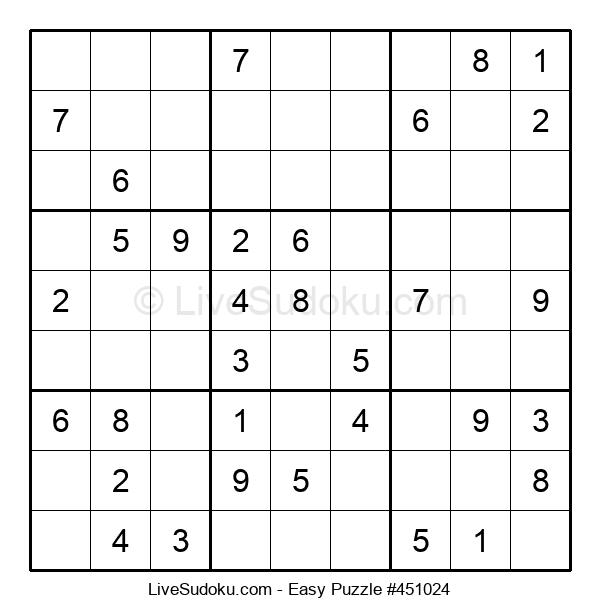 Beginners Puzzle #451024