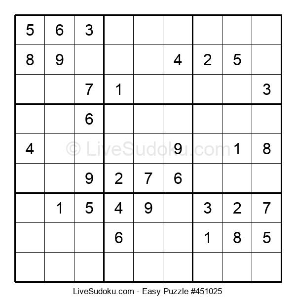 Beginners Puzzle #451025