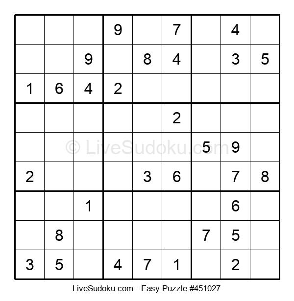 Beginners Puzzle #451027