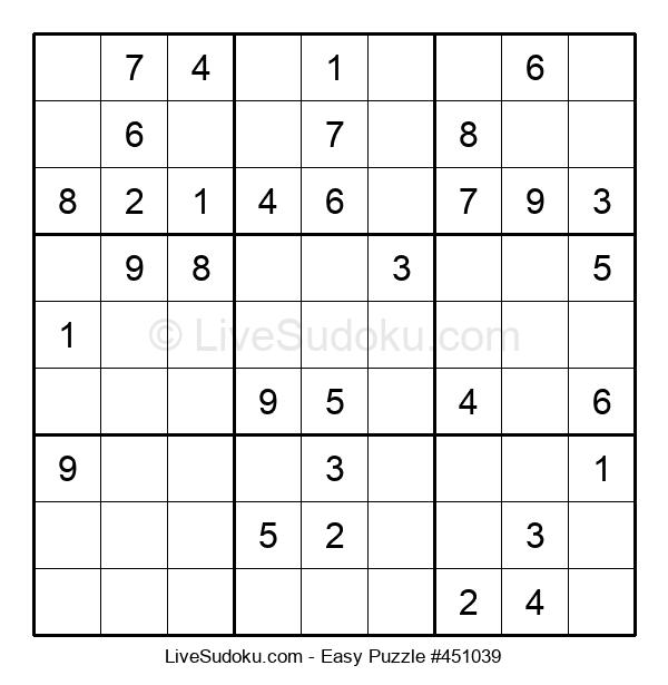 Beginners Puzzle #451039