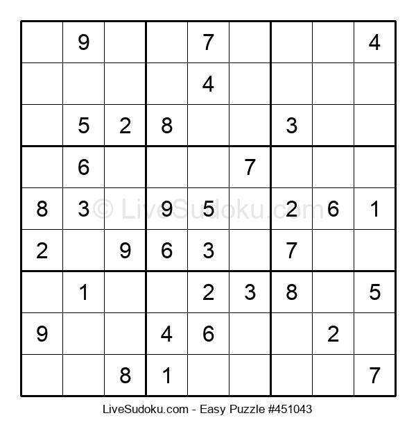 Beginners Puzzle #451043