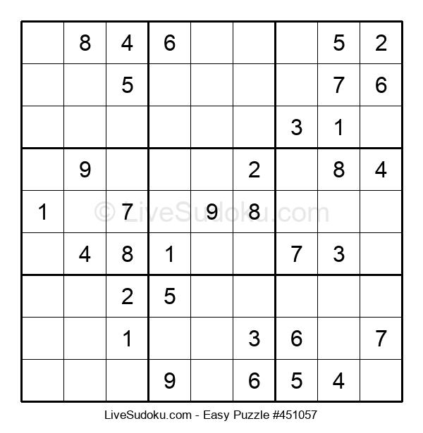 Beginners Puzzle #451057
