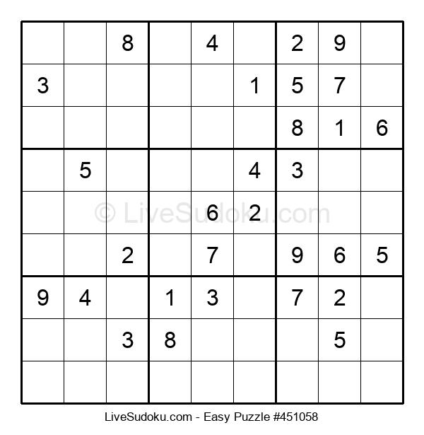 Beginners Puzzle #451058