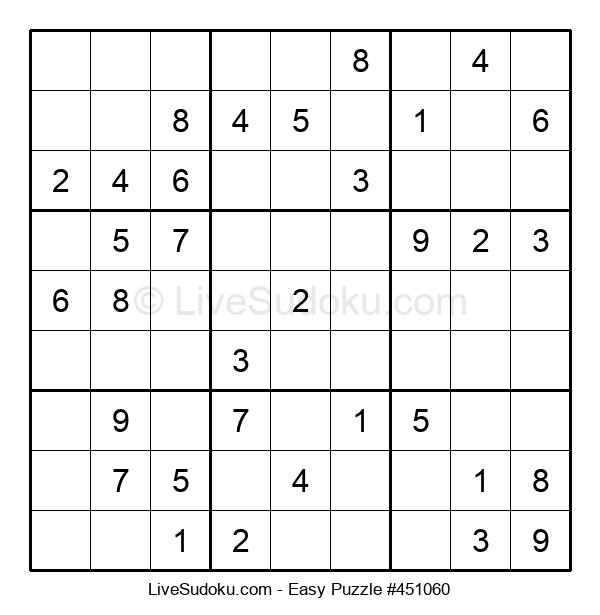 Beginners Puzzle #451060