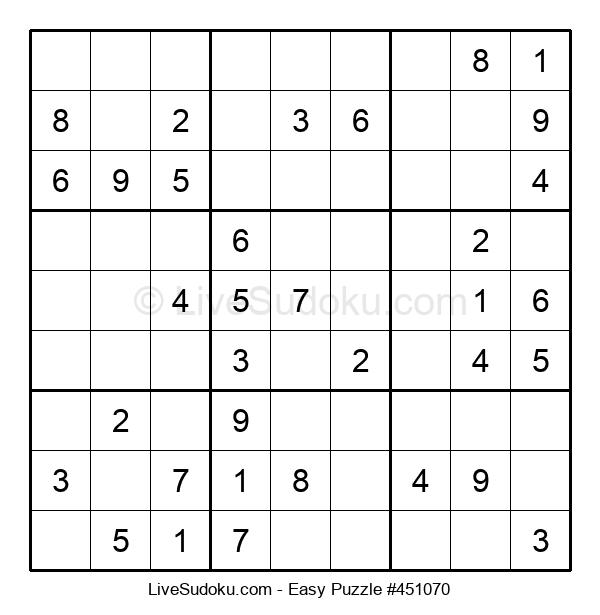 Beginners Puzzle #451070