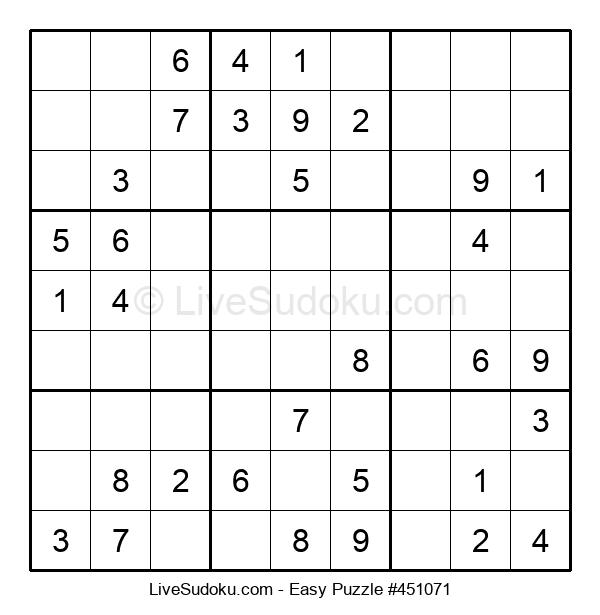 Beginners Puzzle #451071