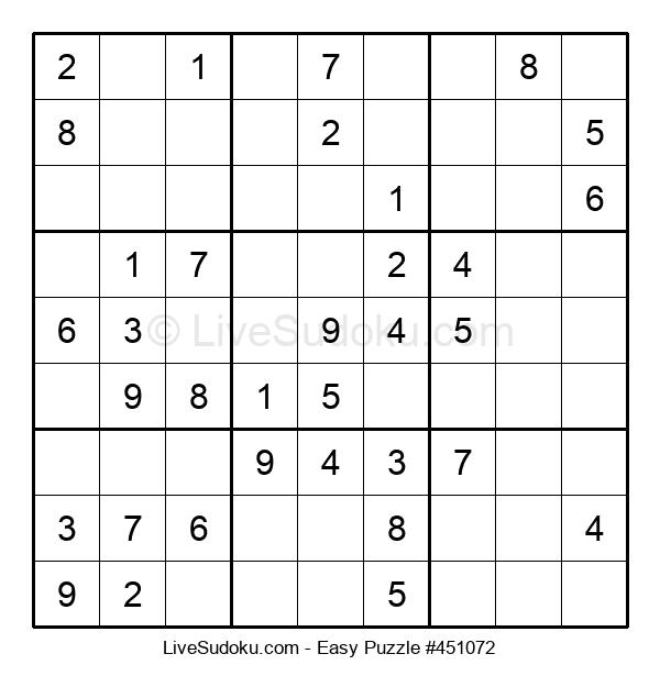 Beginners Puzzle #451072