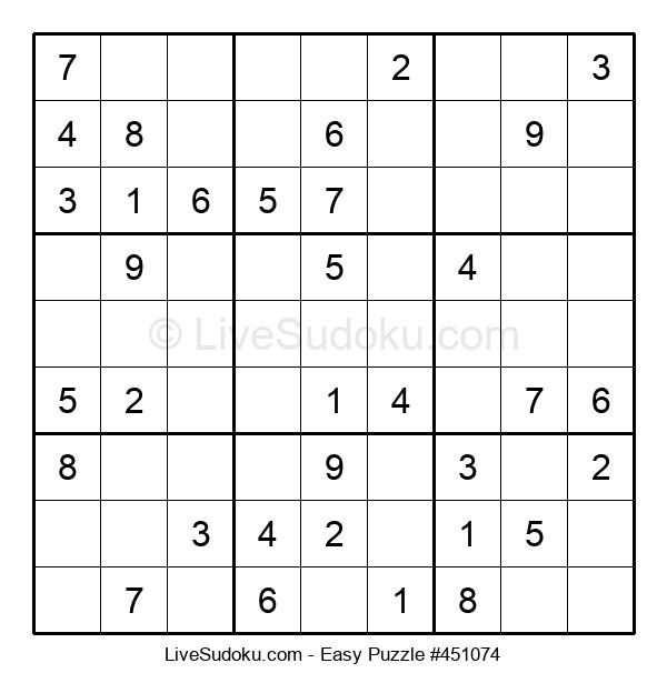 Beginners Puzzle #451074