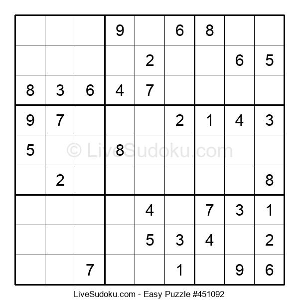 Beginners Puzzle #451092