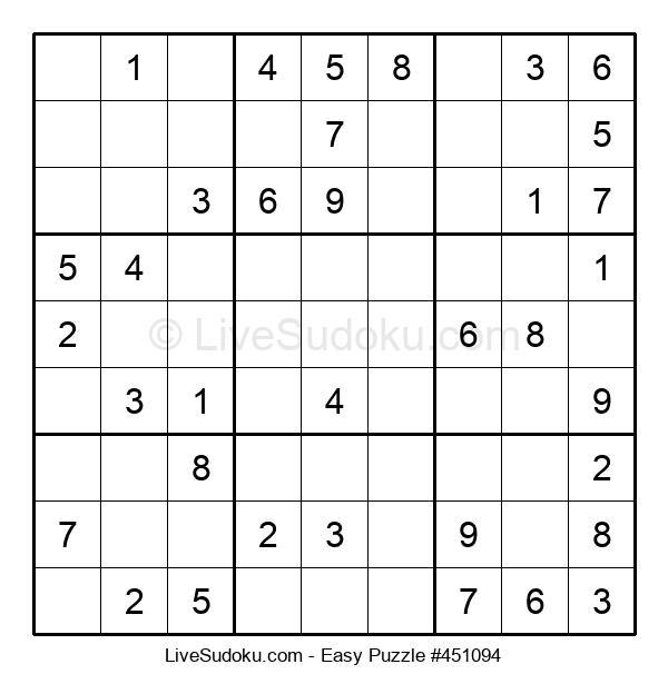 Beginners Puzzle #451094