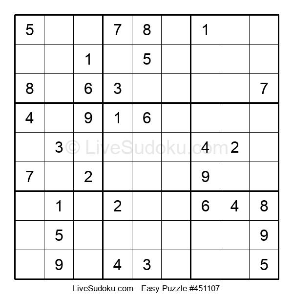 Beginners Puzzle #451107