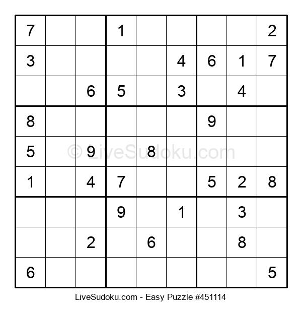 Beginners Puzzle #451114