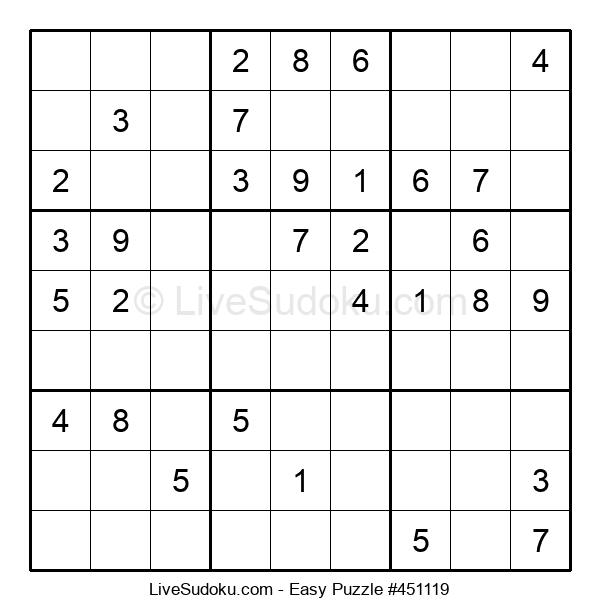 Beginners Puzzle #451119