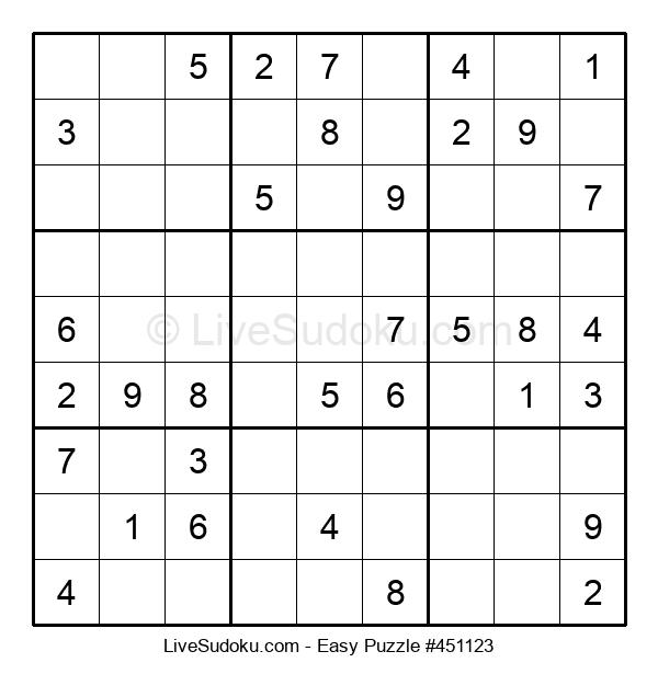 Beginners Puzzle #451123