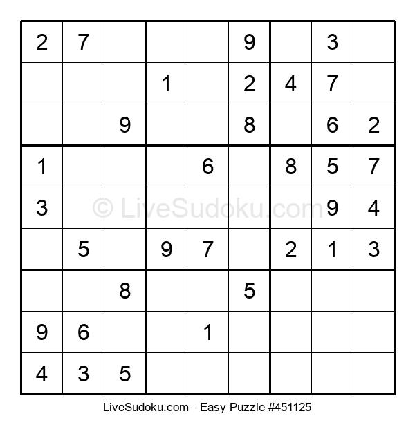 Beginners Puzzle #451125