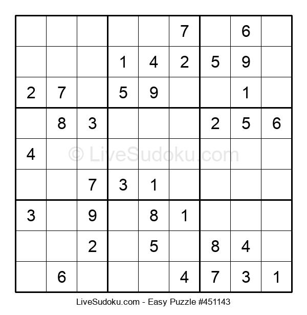 Beginners Puzzle #451143