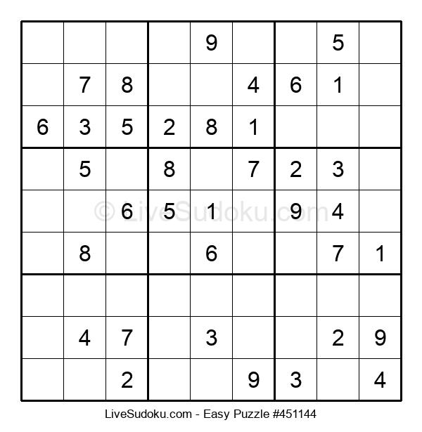 Beginners Puzzle #451144