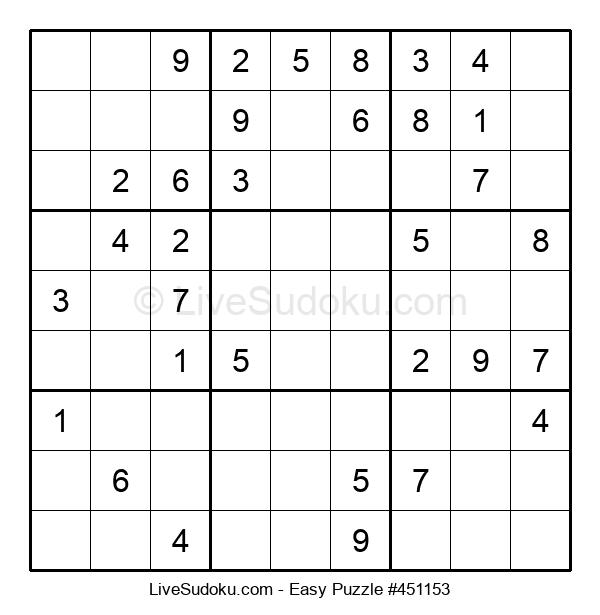 Beginners Puzzle #451153