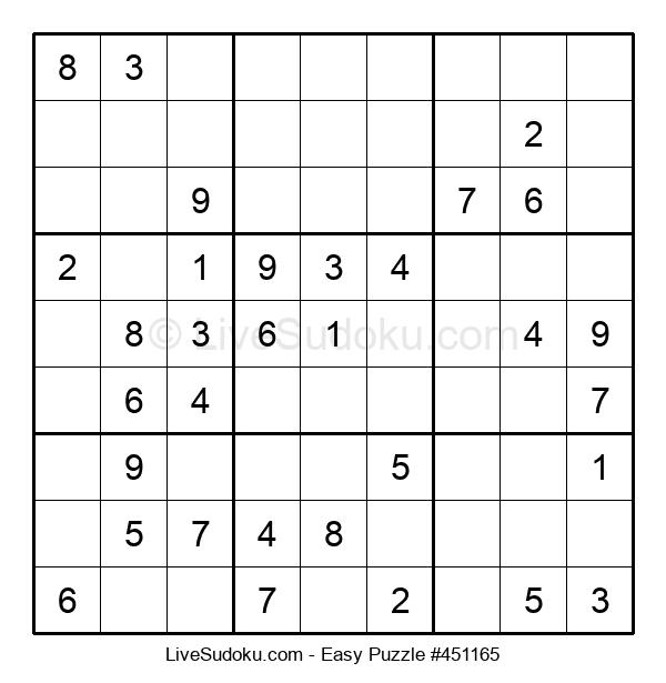 Beginners Puzzle #451165