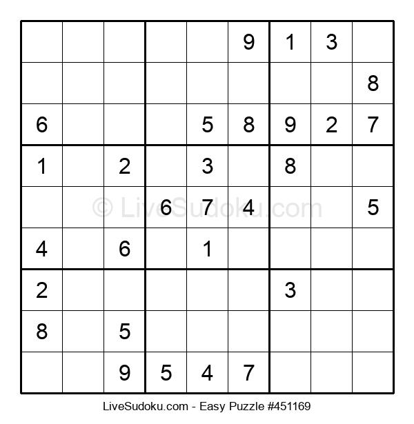 Beginners Puzzle #451169