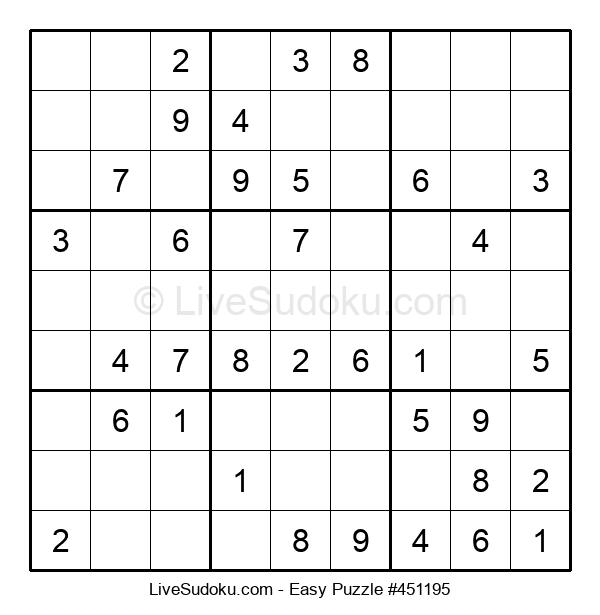 Beginners Puzzle #451195