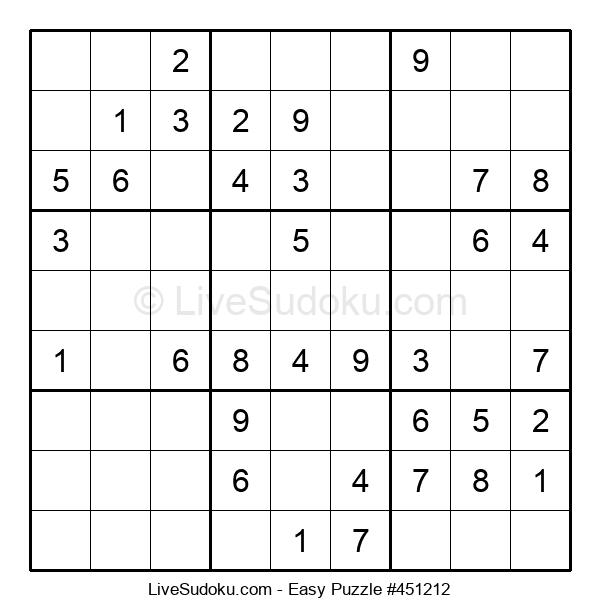 Beginners Puzzle #451212