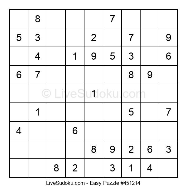 Beginners Puzzle #451214