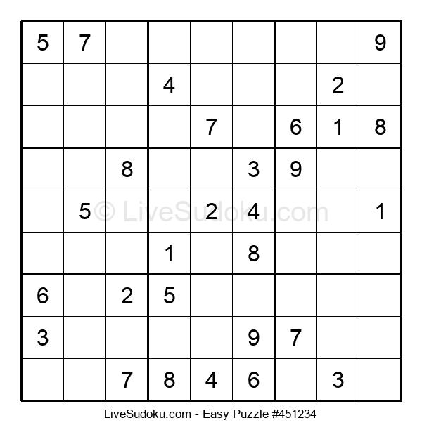 Beginners Puzzle #451234