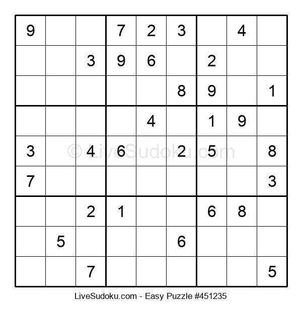 Beginners Puzzle #451235