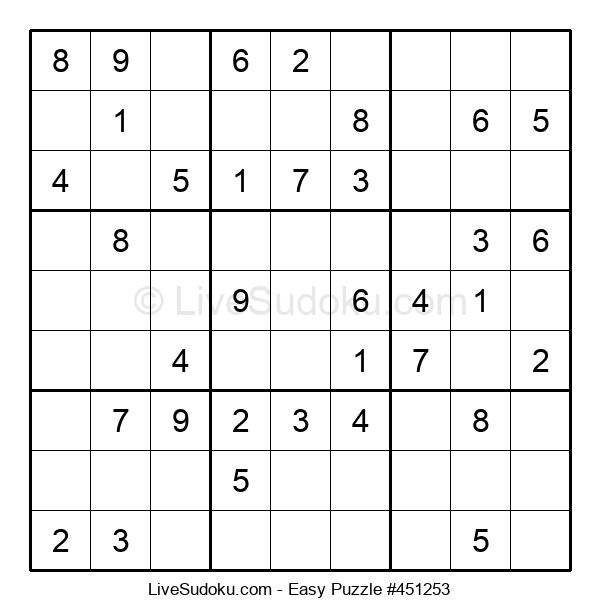 Beginners Puzzle #451253