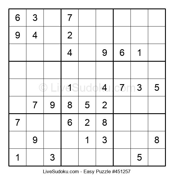Beginners Puzzle #451257
