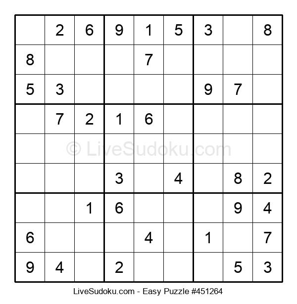 Beginners Puzzle #451264