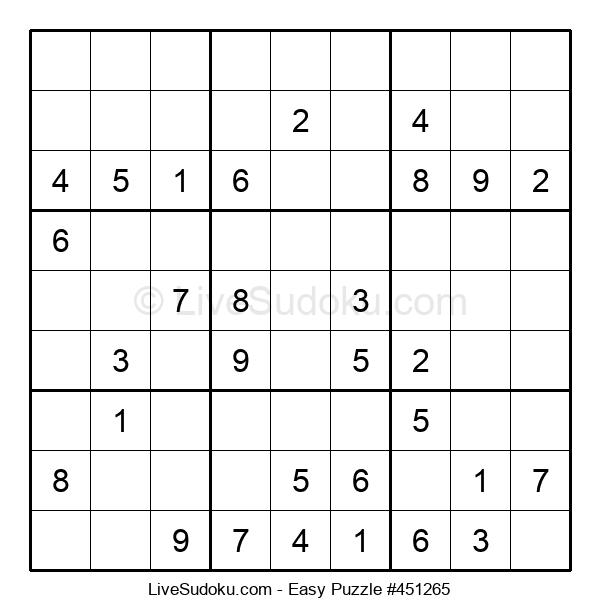 Beginners Puzzle #451265