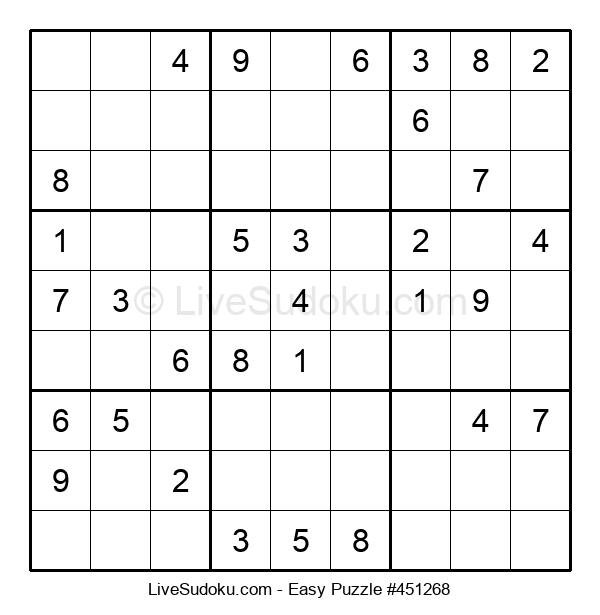 Beginners Puzzle #451268
