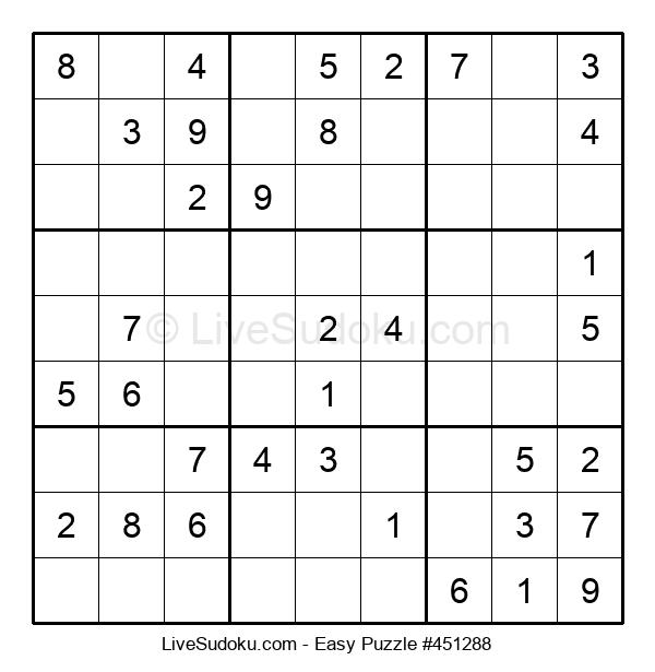 Beginners Puzzle #451288
