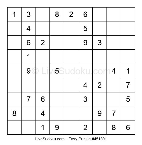 Beginners Puzzle #451301